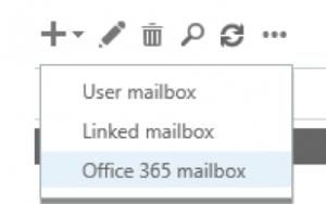 Создаем почтовый ящик Office 365 в гибридной конфигурации