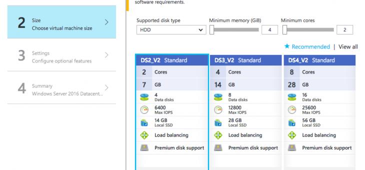 Создаем виртуальную машину в Microsoft Azure Portal