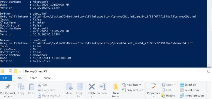 Резервное копирование и восстановление драйверов в Windows 10