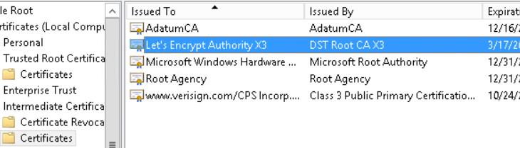 Использование бесплатных сертификатов Let's Encrypt для Exchange Server