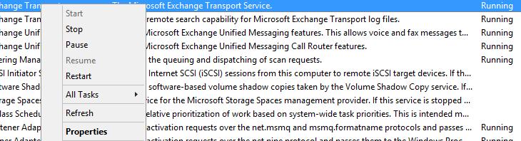 Как уменьшить размер базы Mail.que в Exchange 2013/2016