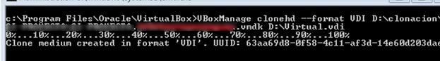 Конвертация образа VMWare vmdk в VirtualBox vdi