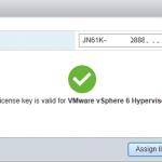 лицензия VMware vSphere 6 Hypervisor