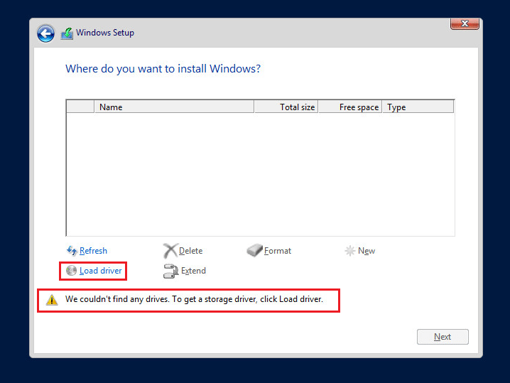 indows Server 2016 не видит контроллер VMware Paravirtual SCSI controller
