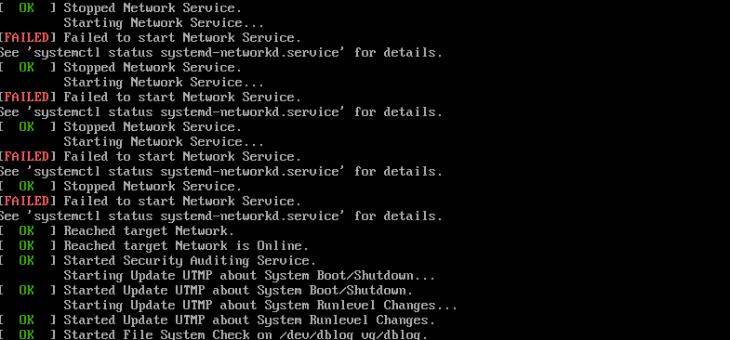 Welcome to Emergency Mode: Исправляем файловую систему на VCSA 6.5