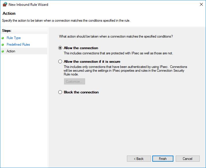 разрешить подключение к Windows Remote Management