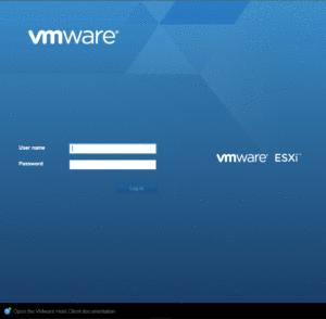 веб клиента vSphere Web Client