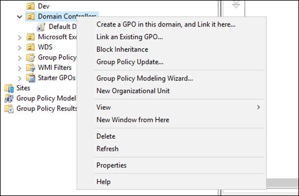 Group Policy Update - удаленное обнволение групповых политик