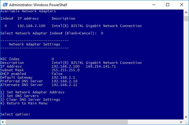 настройка статического адреса и Dns серверов