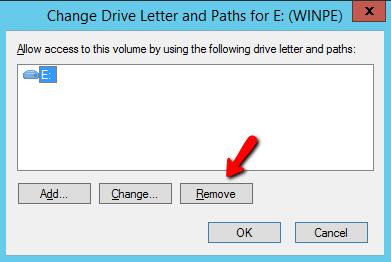 Удалить букву диска у USB устройства