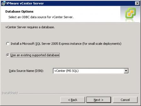 Установка vCenter 4.1
