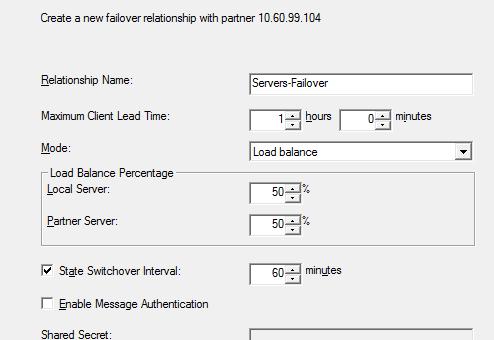 Высокодоступный DHCP-сервер на Windows Server 2012 R2