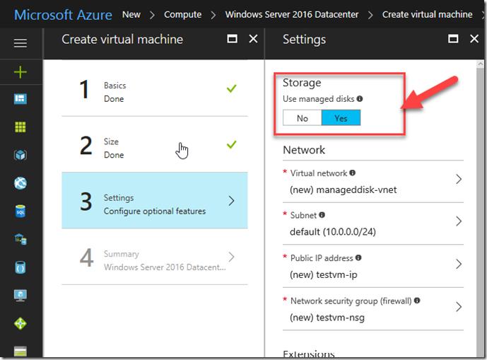Azure Managed Disks