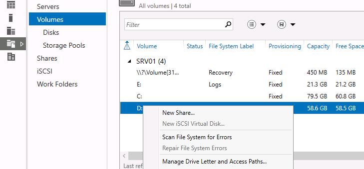 Особенности дедупликации данных в Windows Server 2016