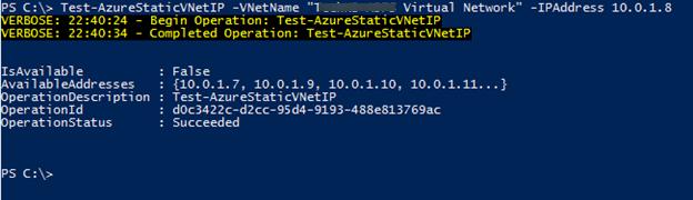 Назначение статического IP адреса виртуальной машине Azure