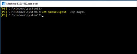 Мониторинг DAG в Exchange Server 2016
