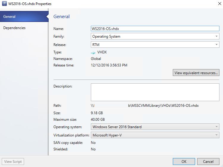 спецификация vhdx файла в библиотеке vmm