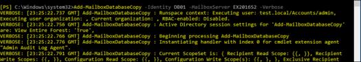 Add-MailboxDatabaseCopy