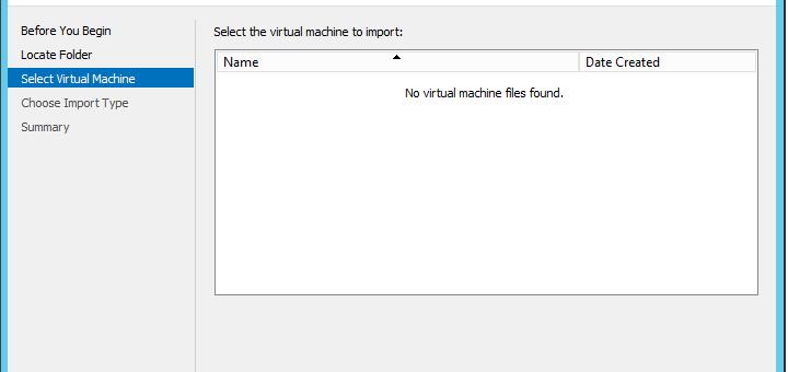 Экспорт виртуальных машин Hyper-V из Windows 10 в Windows Server 2012 R2