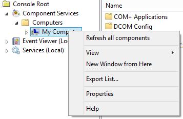 dcom-my-computer-properties