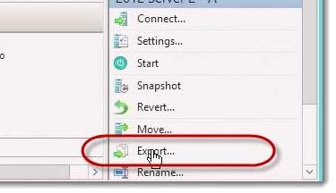 Export-VM