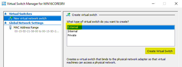 External-Virtual-Switch hyper-v