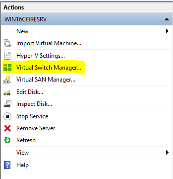 Virtual-Switch-Manager