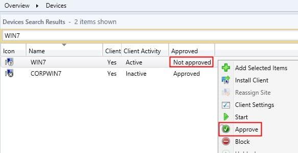 approve-sccm-client