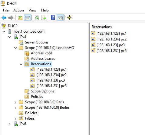 dhcp-console