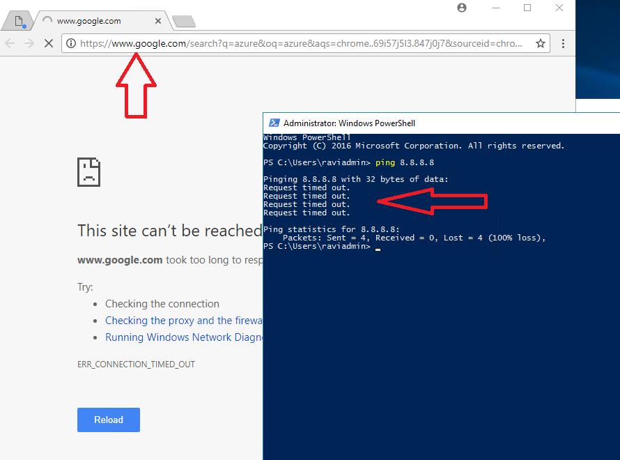 закрыть доступ для ВМ Azure в интернет