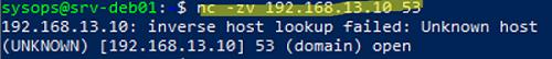 netcat проверить TCP порт на удаленном компьютере