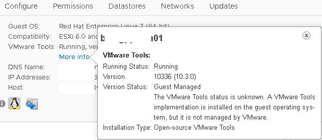 установка vmware tools в гостевой ВМ с Linux, установка open-vm-tools