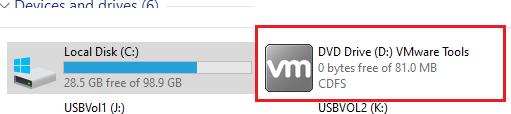 vmware tools образ в windows